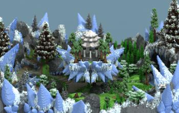 Free Download Minecraft Ice Warzone 400x400