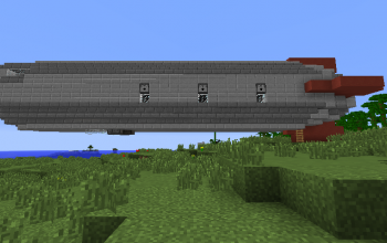 Functional Corvette Airship