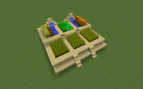small elevated farm