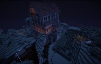 Halloween Mansion 1.7.x (house + maze)