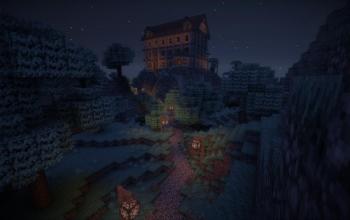 Halloween Mansion 1.7.x (+ full surroundings)