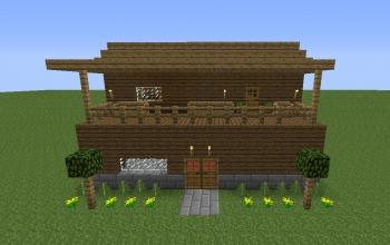 2-story Wood House (CF)
