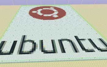 large Ubuntu human logo