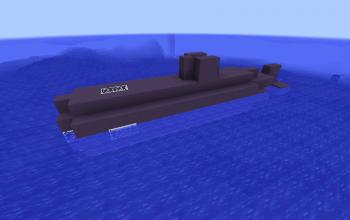 Functional Mini Submarine