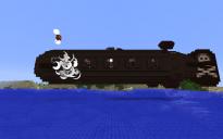 Functional Submersible Pirate Airship