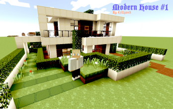 Modern House #1 (By Ecl1pse8) 1.7.2