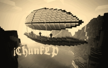 Airship by iChunkLP *Reuploaded*