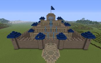 Blue stone Castle
