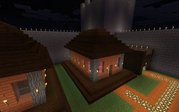 Basic Acacia/Dark Wood House