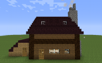 Two Story House with Shed