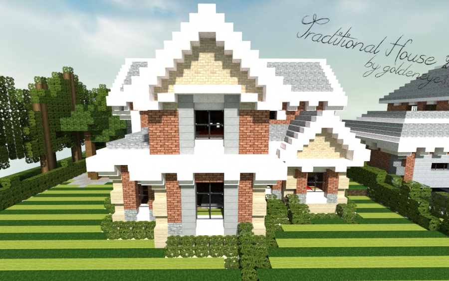 Traditional House #3 | 1.6.4, creation #2060