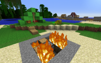 Camping in Minecraft