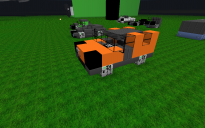 Hummer-Type Car