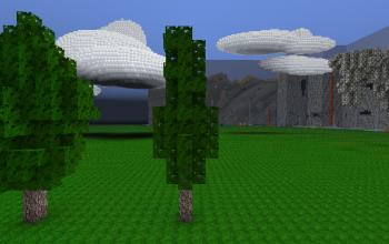 Thin Realistic Tree