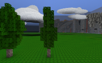 Thin Realistic Tree