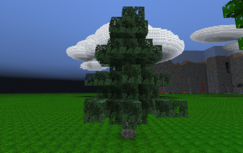Realistic Spruce Tree