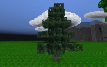 Realistic Spruce Tree