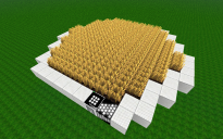 Smaller Hexagonal Wheat Pad