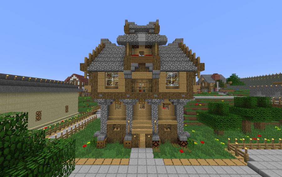 Medieval Medium House Creation 223