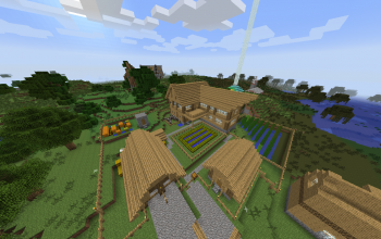 Survival House with Beacon