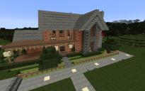 Suburban Brick Home