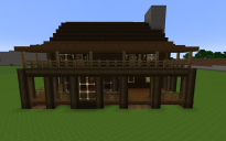 Large Wooden Lodge