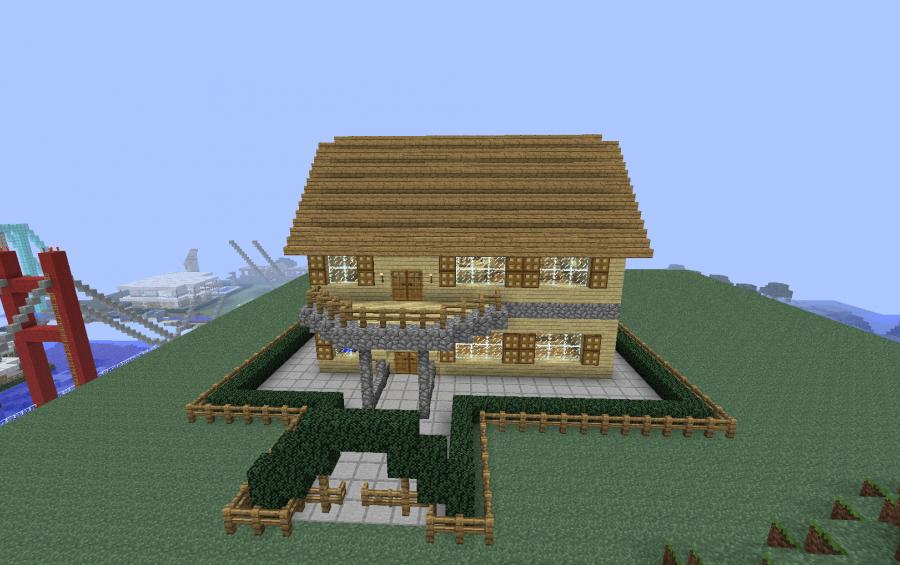 Medium Town House Creation 234