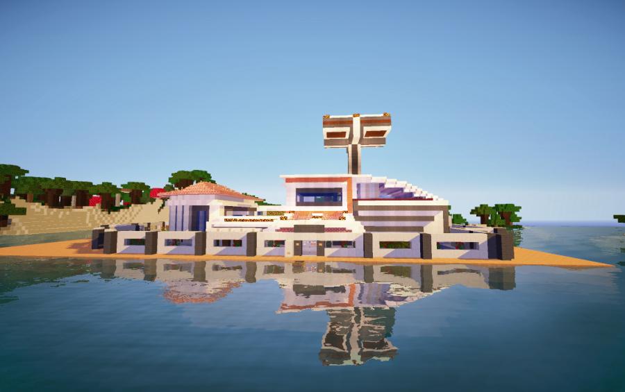 17 redstone survival house creation 2379