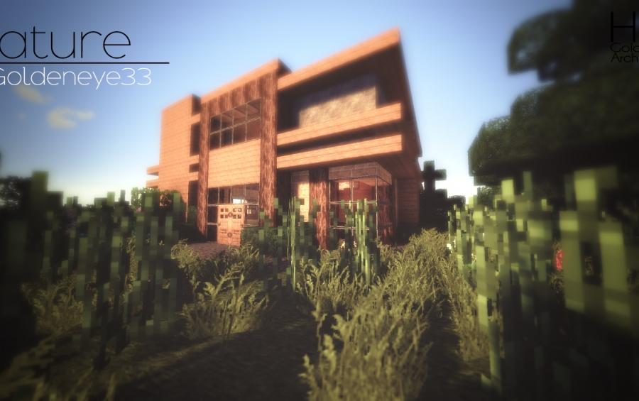 Nature Modern Survival House 172 creation 2392
