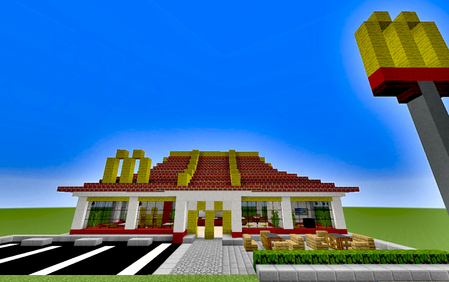 Cool Shops To Build In Minecraft Pe