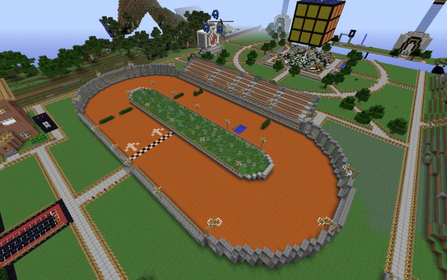Horse Race Track Creation 2423