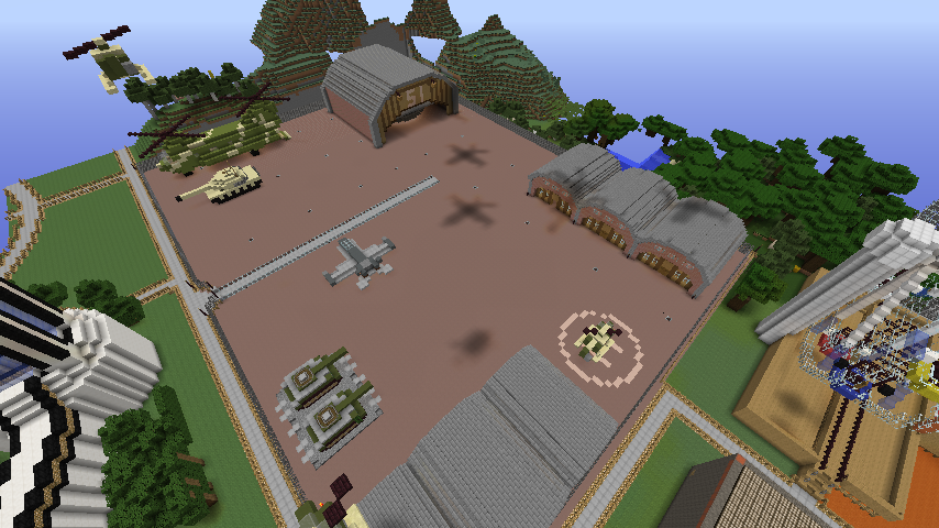 Minecraft Military Base Maps