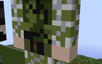 Statue - Army Skin