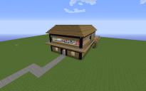 Basic Box Wooden House
