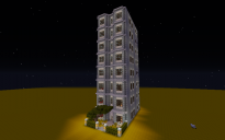 Apartment Building By campbellpop