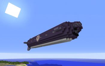 Subersible Torpedo Airship Tiger Shark
