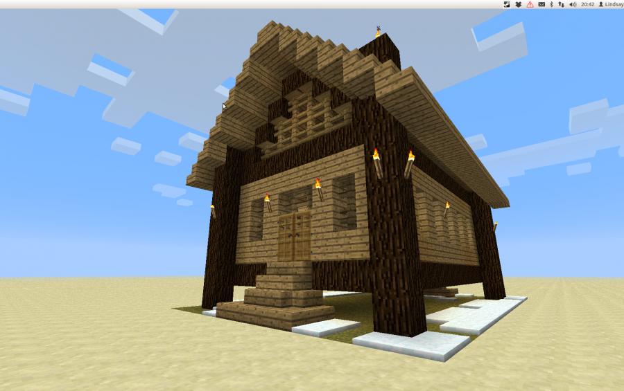Minecraft Barracks Schematic