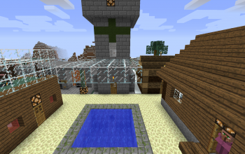 Ice Plains Village 01 (for 1.72)