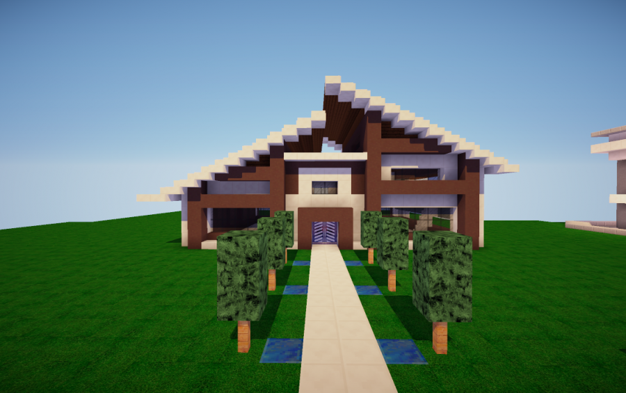little modern house creation 2609