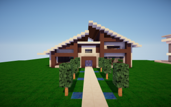 little modern house