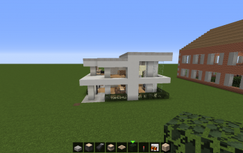 Minecraft Houses and shops creations 98