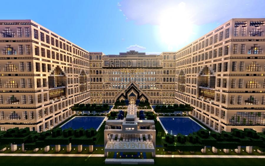Minecraft schematics the minecraft creations and schematics grand hotel malvernweather Image collections