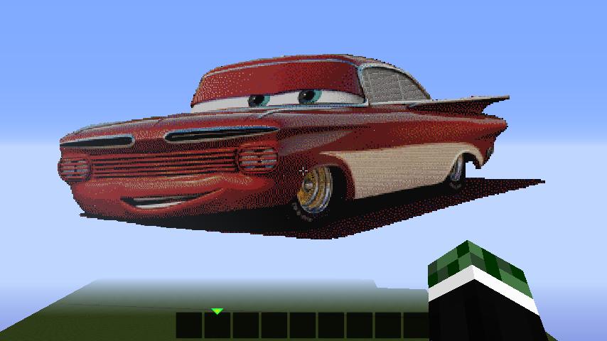 Red Lowrider Creation 2716