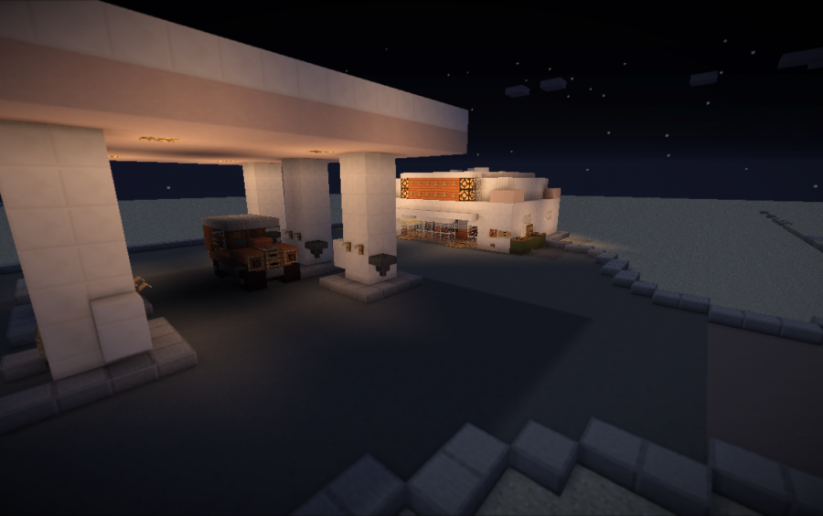 gas station c o d zombies creation 2736