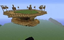 Floating island with stairs!