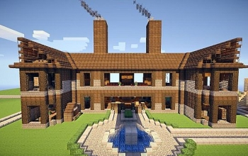 3 Story Mansion. Rustic style.  live on IP in post 