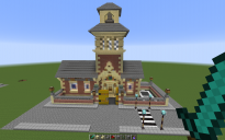 School With Bell Tower