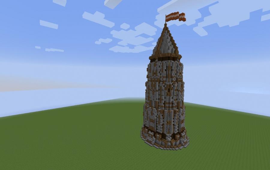 mega tower medieval style creation 2832