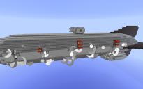 Royal Navy Battleship Airship for Movecraft