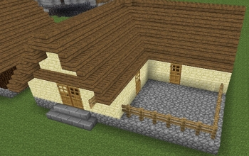 Ultima Online Housing - Large House with Patio
